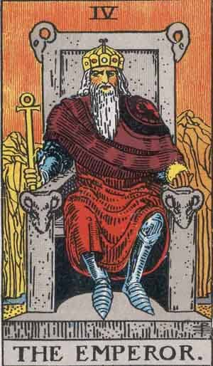 the emperor tarot card meaning